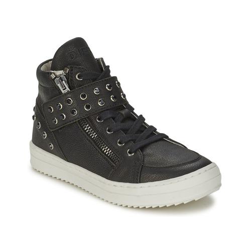 Shoes Girl Hi top trainers Diesel TREVOR Black