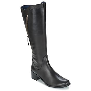 Shoes Women High boots PintoDiBlu CARTIL Black