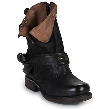 Shoes Women Mid boots Airstep / A.S.98 SAINT BIKE Black