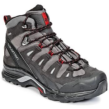 Shoes Men Walking shoes Salomon QUEST PRIME GTX® Magnet /  BLACK / RED / Dalhia