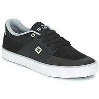 Shoes Men Low top trainers DC Shoes WES KREMER M SHOE XKSW Black / Grey / White