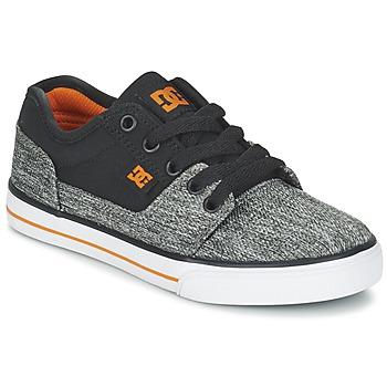 Shoes Boy Low top trainers DC Shoes TONIK TX SE B SHOE BGY Black / Grey / Orange