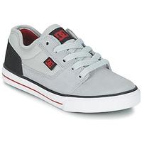 Shoes Boy Low top trainers DC Shoes TONIK B SHOE XSKR Grey / Black / Red