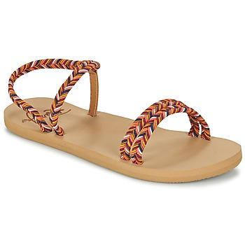Shoes Women Flip flops Roxy LUANA J SNDL MLT Multicoloured