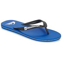 Shoes Men Flip flops Quiksilver MOLOKAI Black / Blue / White