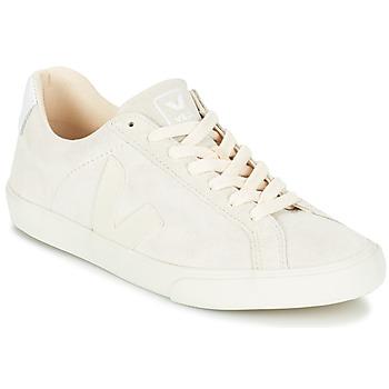 Shoes Women Low top trainers Veja ESPLAR LOW LOGO White