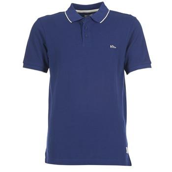 Clothing Men short-sleeved polo shirts DC Shoes MILNOR Marine