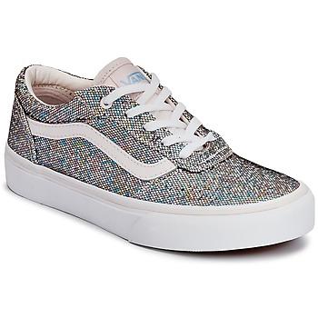 Shoes Children Low top trainers Vans MILTON Glitter / Multicoloured