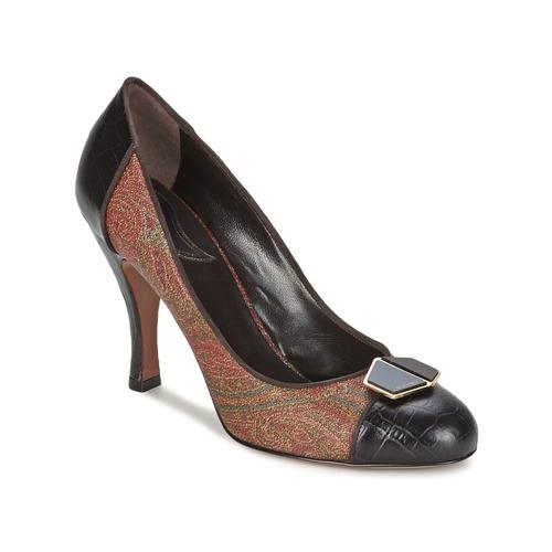 Shoes Women Heels Etro 3074 Brown