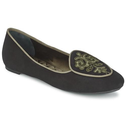 Shoes Women Flat shoes Etro 3059 Black / Kaki