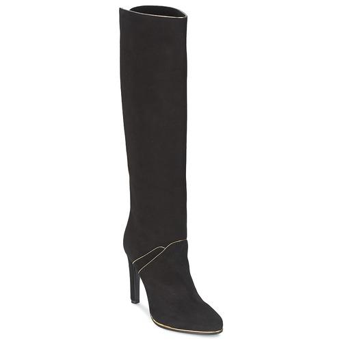 Shoes Women High boots Etro 3119 Black / Gold