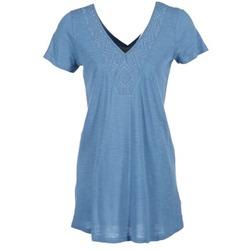 Clothing Women Short Dresses Roxy DUSTIN Blue