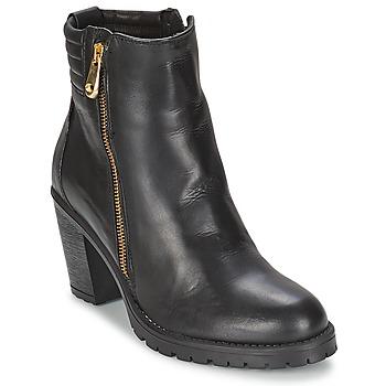 Shoes Women Ankle boots Casual Attitude ELE Black