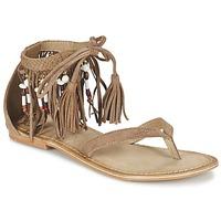 Shoes Women Sandals Vero Moda VMKAYA LEATHER SANDAL Cognac