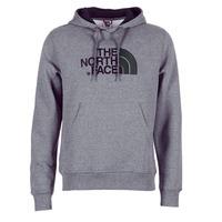 Clothing Men sweatpants The North Face DREW PEAK PULLOVER HOODIE Grey