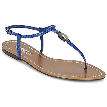 Shoes Women Flip flops Ralph Lauren AIMON SANDALS CASUAL Blue