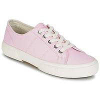 Shoes Women Low top trainers Ralph Lauren JOLIE SNEAKERS VULC Pink