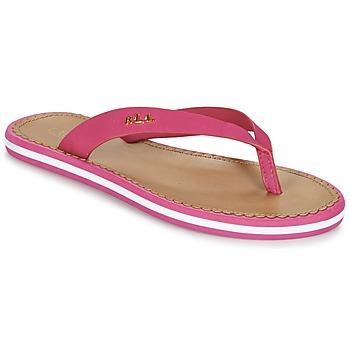 Shoes Women Flip flops Ralph Lauren RYANNE SANDALS CASUAL Pink