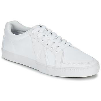 Shoes Men Low top trainers Ralph Lauren HUGH White