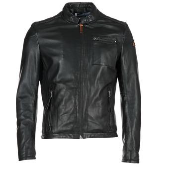 Clothing Men Leather jackets / Imitation leather Redskins SADLER Black