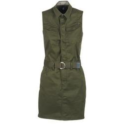 Clothing Women Short Dresses G-Star Raw ROVIC SLIM DRESS S/LESS KAKI