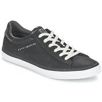 Shoes Women Low top trainers Esprit RIATA LACE UP Black