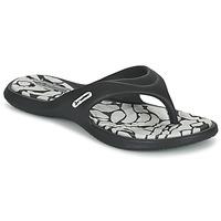 Shoes Women Flip flops Rider ISLAND VIII Black / Grey