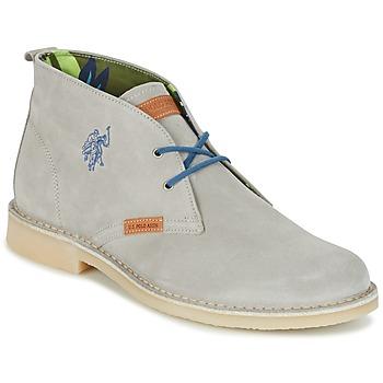 Shoes Men Mid boots U.S Polo Assn. AMADEUS Grey