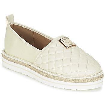 Shoes Women Espadrilles Love Moschino JA10093G13 Cream