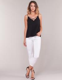 Clothing Women 3/4 & 7/8 jeans Gaudi PODALI White