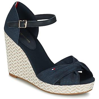 Shoes Women Sandals Tommy Hilfiger ELENA 3DI MARINE