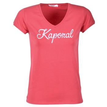 Clothing Women short-sleeved t-shirts Kaporal NIAM Pink