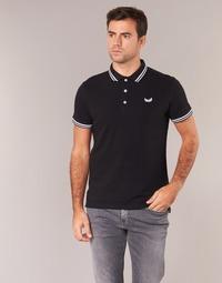Clothing Men short-sleeved polo shirts Kaporal BASOC Black
