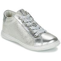 Shoes Girl Low top trainers Primigi SUTRE Silver