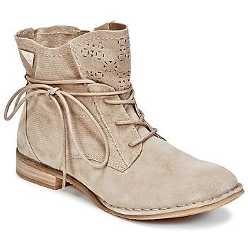 Shoes Women Mid boots Bugatti REGATE SABLE