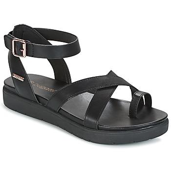 Shoes Women Sandals Bugatti VENATE Black