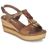 Shoes Women Sandals Samoa DREDU Brown