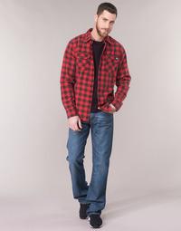 Clothing Men bootcut jeans Levi's 527 Blue