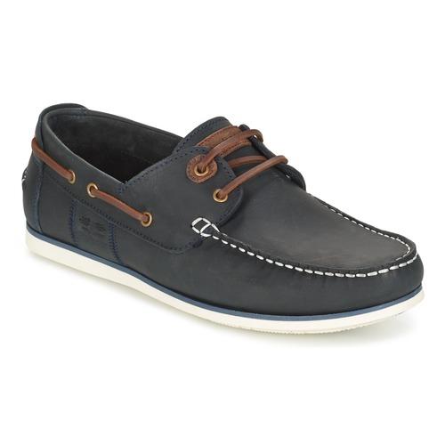 Shoes Men Boat shoes Barbour CAPSTAN Blue