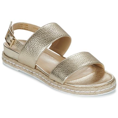 Shoes Women Sandals Dune London LACROSSE Gold