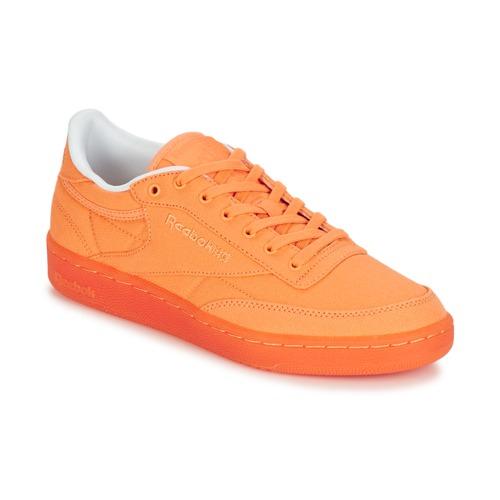 Shoes Women Low top trainers Reebok Classic CLUB C 85 CANVAS Sunwash
