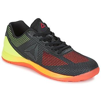 Shoes Men Fitness / Training Reebok Sport R CROSSFIT NANO 7.0 Black / Green
