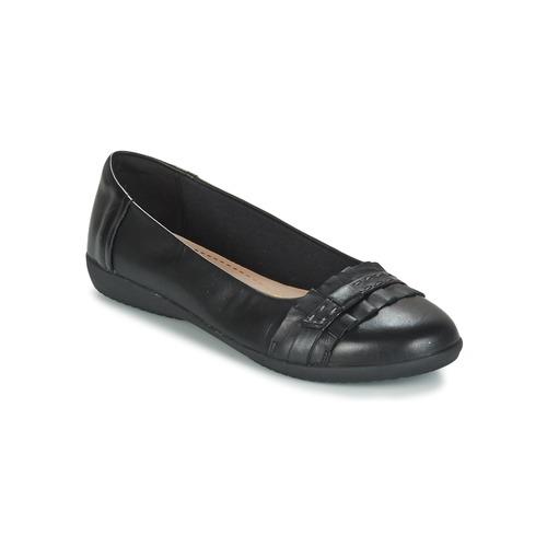 Shoes Women Flat shoes Clarks FEYA ISLAND Black