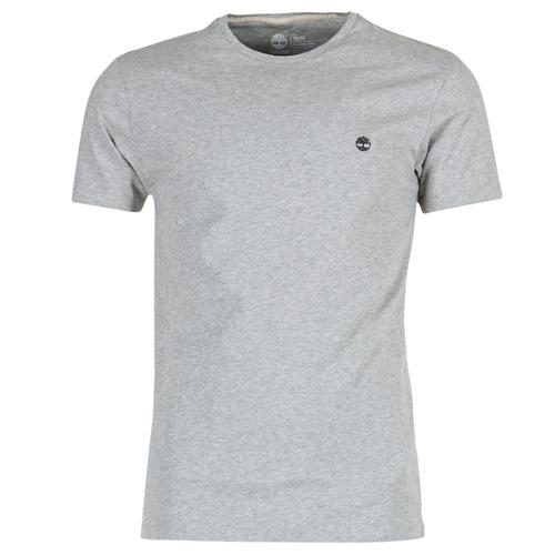 Clothing Men Short-sleeved t-shirts Timberland SS DUNSTAN RIVER CREW TEE Grey