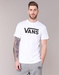 Clothing Men short-sleeved t-shirts Vans VANS CLASSIC White