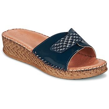 Shoes Women Sandals Salamander FLORA Blue