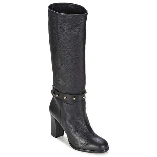 Shoes Women High boots Moschino Cheap & CHIC STUD Black