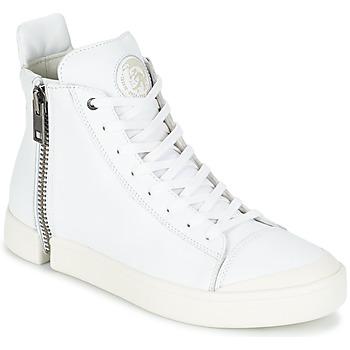 Shoes Men Hi top trainers Diesel S-NENTISH White