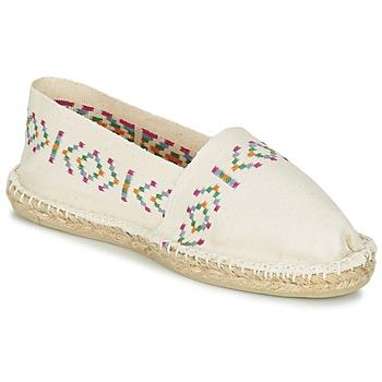 Shoes Women Espadrilles 1789 Cala CLASSIQUE Ecru