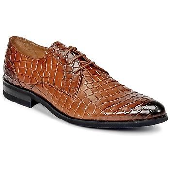 Shoes Men Derby Shoes Melvin & Hamilton TONI 1 Brown